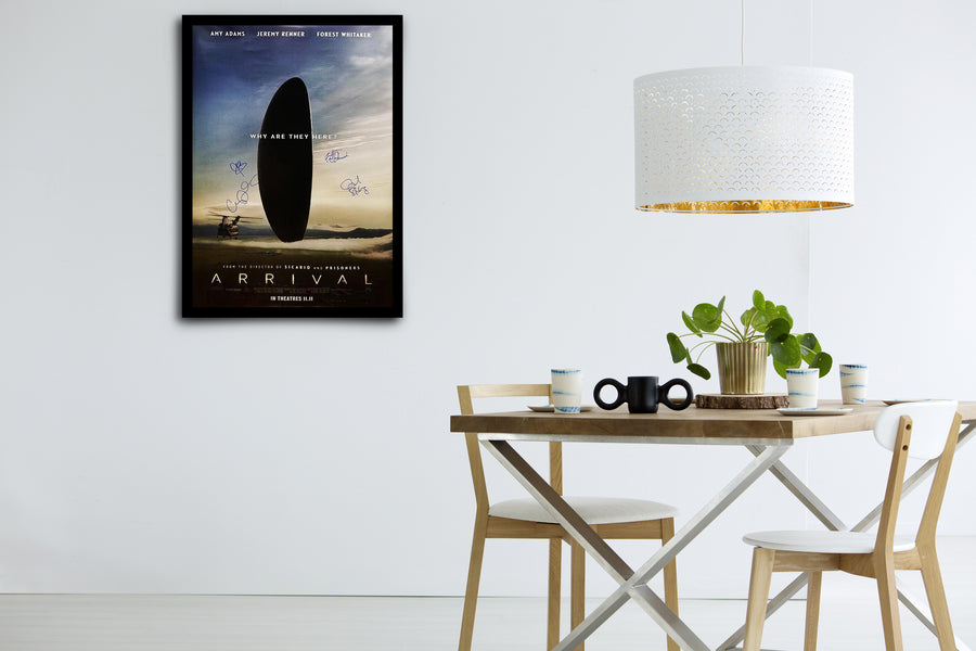 ARRIVAL - Signed Poster + COA