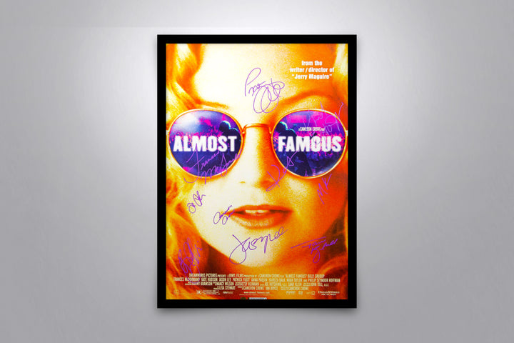 Almost Famous - Signed Poster + COA