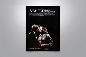 Allied - Signed Poster + COA