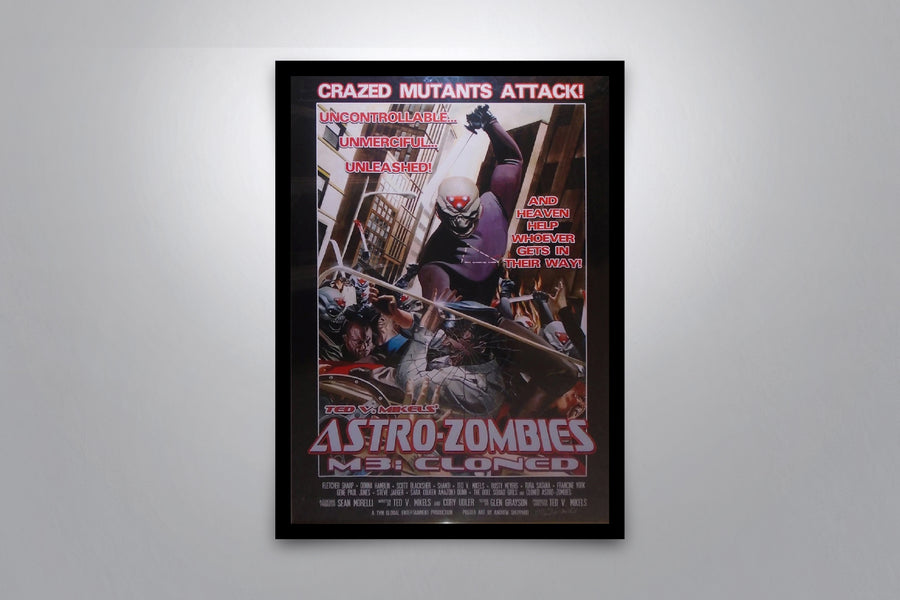 Astro Zombies: M3 Cloned - Signed Poster + COA