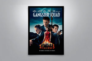 Gangster Squad - Signed Poster + COA