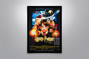 Harry Potter and the Sorcerer's Stone - Signed Poster + COA - Poster Memorabilia