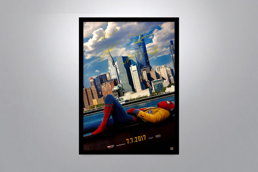SPIDER-MAN HOMECOMING - Signed Poster + COA