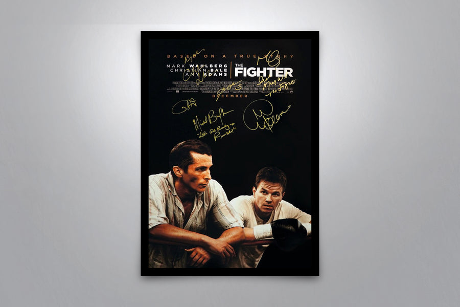 THE FIGHTER - Signed Poster + COA - Poster Memorabilia
