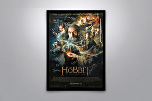 THE HOBBIT: The Desolation of Smaug - Signed Poster + COA