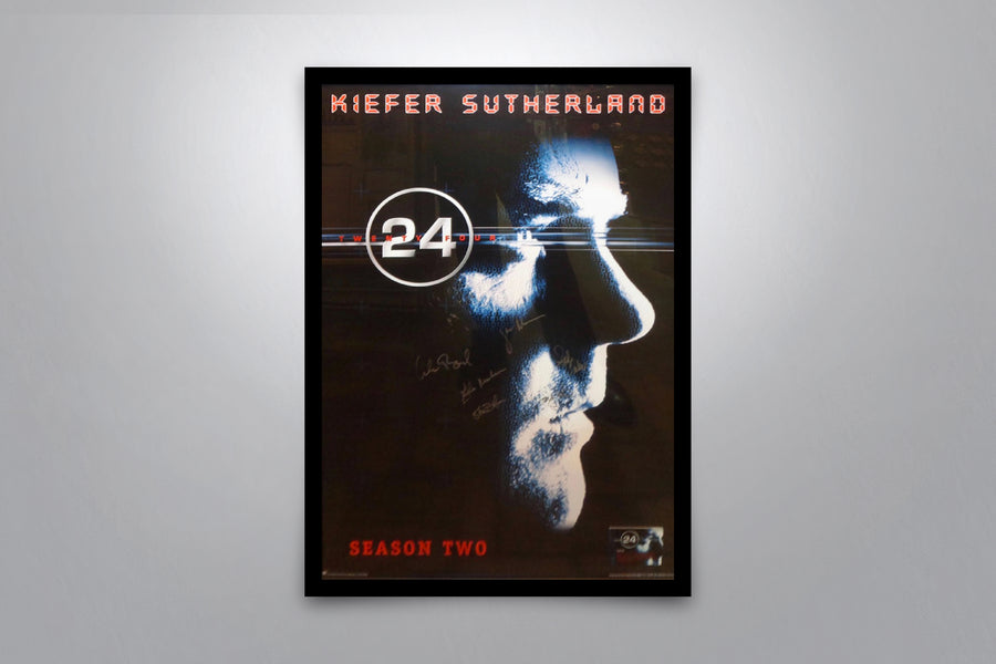 TWENTY FOUR: Season 2 - Signed Poster + COA