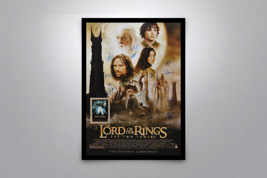 Lord of the Rings Autographed Poster Collection