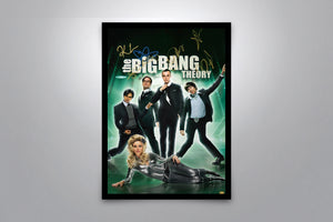 THE BIG BANG THEORY - Signed Poster + COA