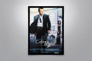 JAMES BOND: Casino Royale - Signed Poster + COA