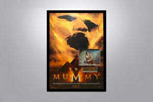 The Mummy 1999 - Signed Poster + COA
