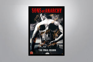 SONS OF ANARCHY - Signed Poster + COA