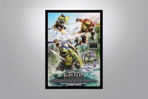 TEENAGE MUTANT NINJA TURTLES - Signed Poster + COA