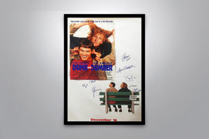 DUMB AND DUMBER - Signed Poster + COA