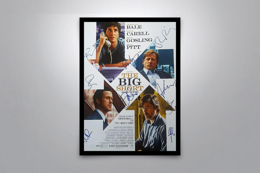THE BIG SHORT - Signed Poster + COA