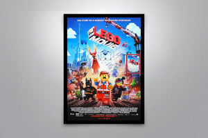 THE LEGO MOVIE - Signed Poster + COA