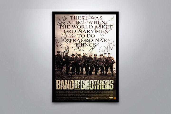 HBO's BAND OF BROTHERS - Signed Poster + COA