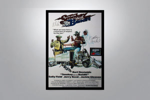 SMOKEY AND THE BANDIT - Signed Poster + COA