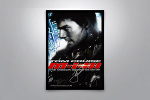 MISSION: IMPOSSIBLE III - Signed Poster + COA
