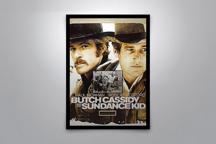 BUTCH CASSIDY AND THE SUNDANCE KID - Signed Poster + COA