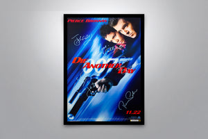 JAMES BOND: Die Another Day - Signed Poster + COA