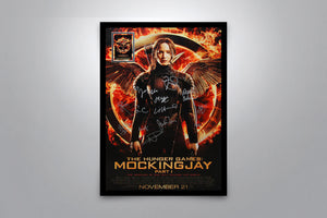 THE HUNGER GAMES: Mockingjay Part 1 - Signed Poster + COA