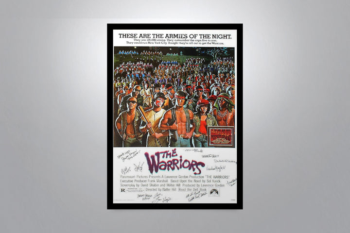 THE WARRIORS - Signed Poster + COA