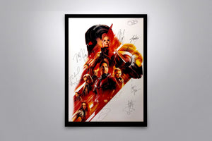 Ant-Man and the Wasp - Signed Poster + COA - Poster Memorabilia