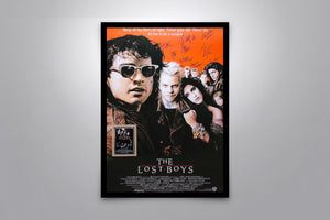 LOST BOYS - Signed Poster + COA