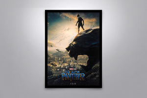BLACK PANTHER - Signed Poster + COA