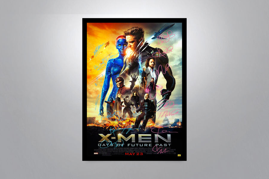 X-MEN: Days of Future Past - Signed Poster + COA