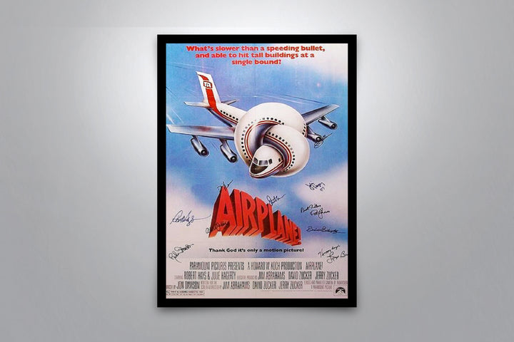 Airplane! - Signed Poster + COA