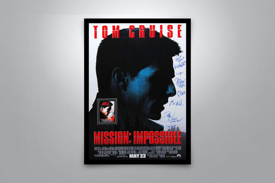 MISSION: IMPOSSIBLE - Signed Poster + COA