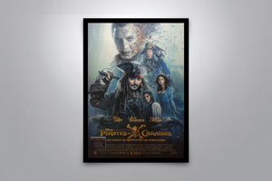 PIRATES OF THE CARIBBEAN (French Version) - Signed Poster + COA