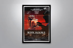 BODY DOUBLE - Signed Poster + COA