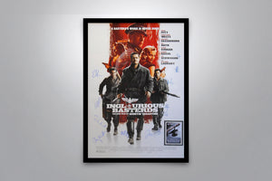 INGLOURIOUS BASTERDS - Signed Poster + COA