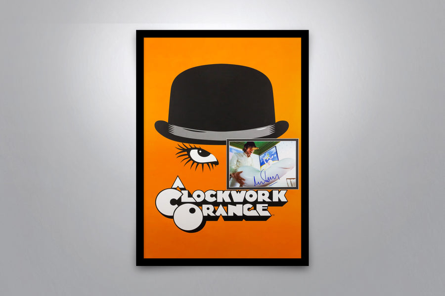 CLOCKWORK ORANGE - Signed Poster + COA