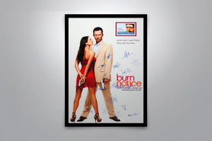 BURN NOTICE - Signed Poster + COA
