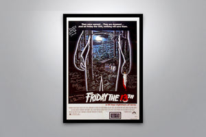 FRIDAY THE 13TH - Signed Poster + COA