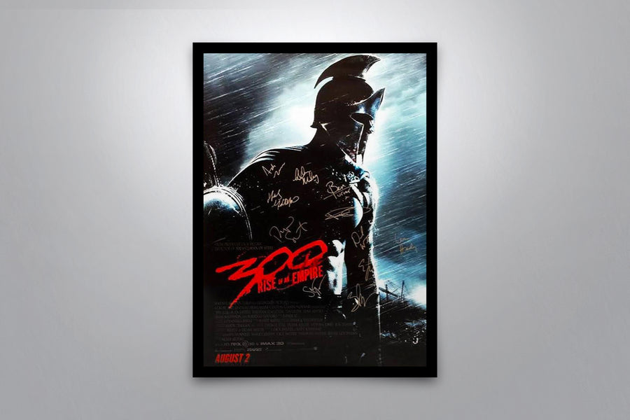 300: Rise of an Empire - Signed Poster + COA