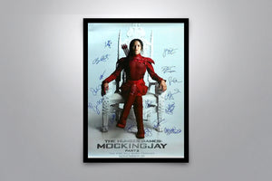 THE HUNGER GAMES: MOCKINGJAY Part II - Rogue Nation  - Signed Poster + COA