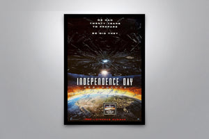 INDEPENDENCE DAY: Resurgence - Signed Poster + COA