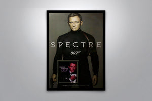 JAMES BOND: Spectre - Signed Poster + COA