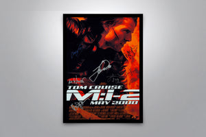 MISSION: IMPOSSIBLE II - Signed Poster + COA