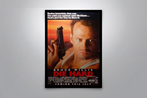 DIE HARD - Signed Poster + COA