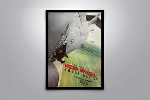 MISSION: IMPOSSIBLE - Rogue Nation  - Signed Poster + COA - Poster Memorabilia