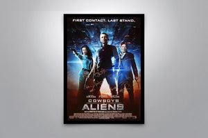 COWBOYS AND ALIENS - Signed Poster + COA