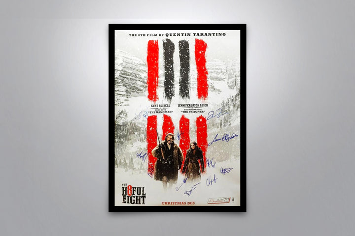 THE HATEFUL EIGHT - Signed Poster + COA
