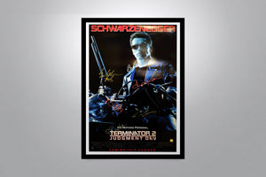 TERMINATOR 2: Judgment Day - Signed Poster + COA