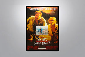 SIX DAYS SEVEN NIGHTS - Signed Poster + COA