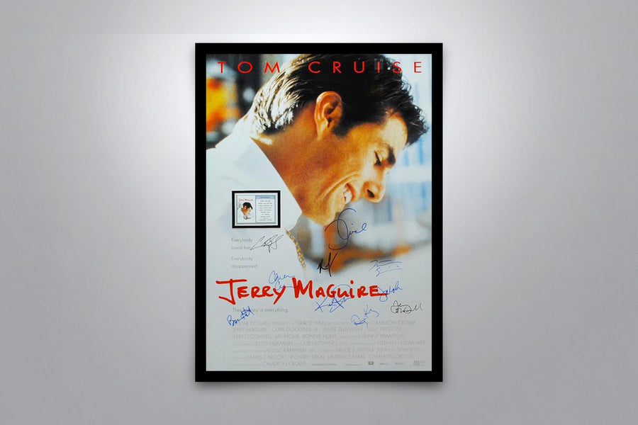 JERRY MAGUIRE - Signed Poster + COA